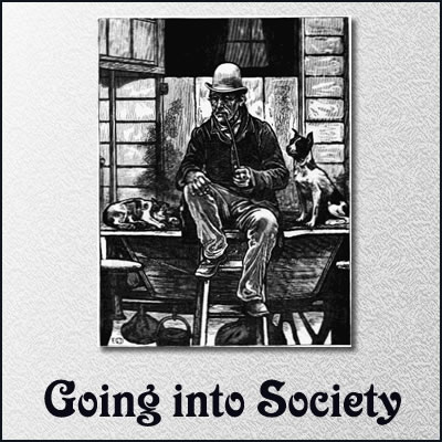 Going into Society by Charles Dickens