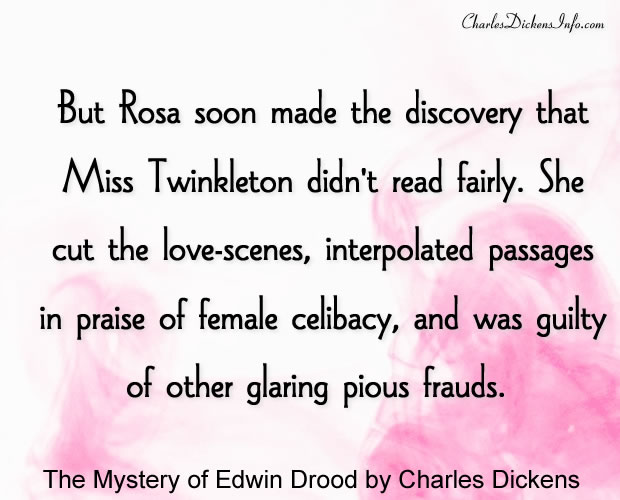 The Mystery of Edwin Drood Quotes