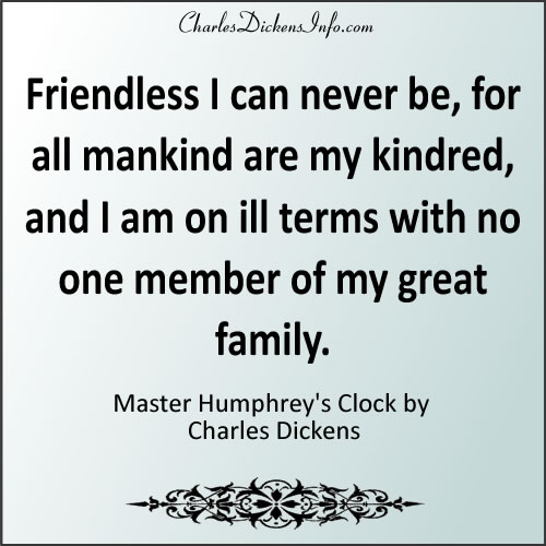 Master Humphrey's Clock Quotes