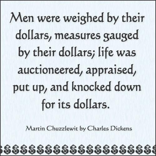 Martin Chuzzlewit Quotes