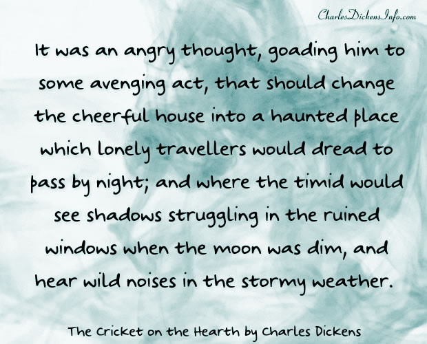 The Cricket on the Hearth Quotes