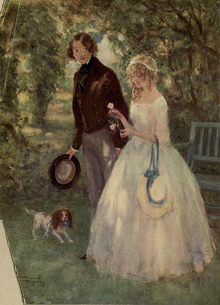 Dora Spenlow and David Copperfield