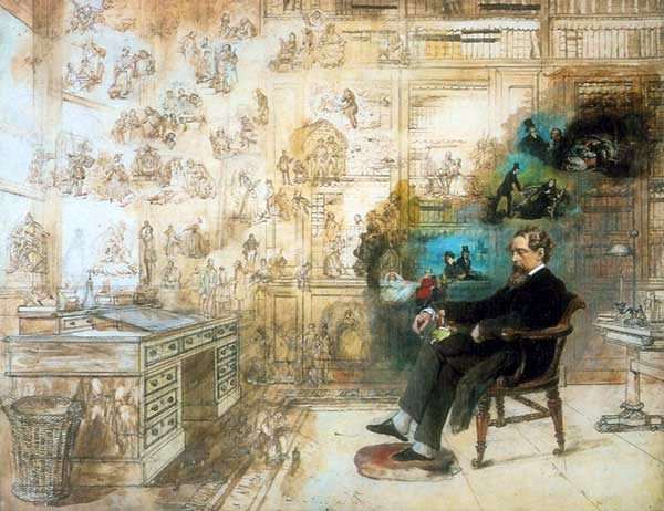 events and facts about Charles Dickens