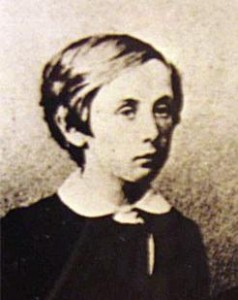Francis Jeffrey Dickens as a child