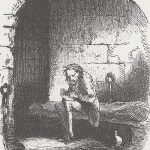 Dr Mannette in the Bastille Prison by Phiz