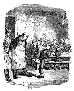Oliver Twist Picture Scramble