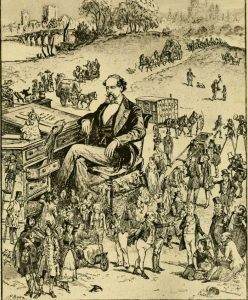 Dickens Surrounded by His Characters