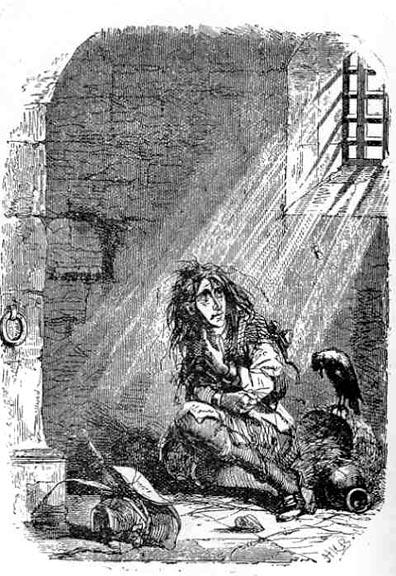 Barnaby in Newgate Prison