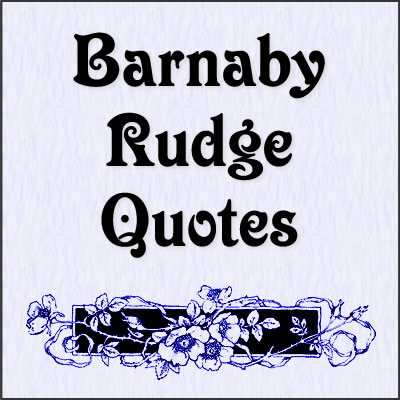 barnaby rudge synopsis