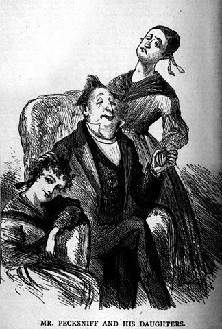 Martin Chuzzlewit - Mr. Pecksniff and his Daughters