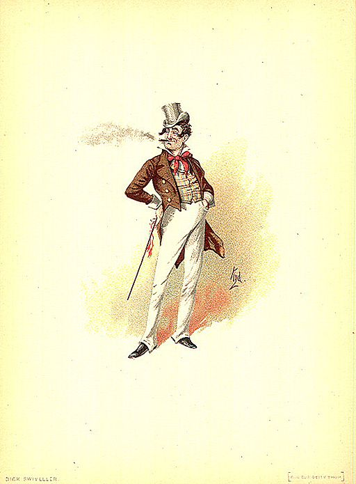 Dick Swivellers, illustration by Kyd (Joseph Clayton Clarke)