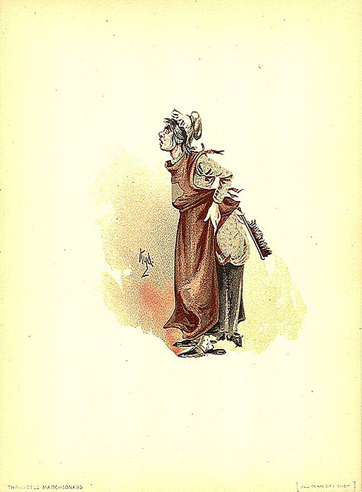The Marchioness illustration by Kyd (Joseph Clayton Clarke)