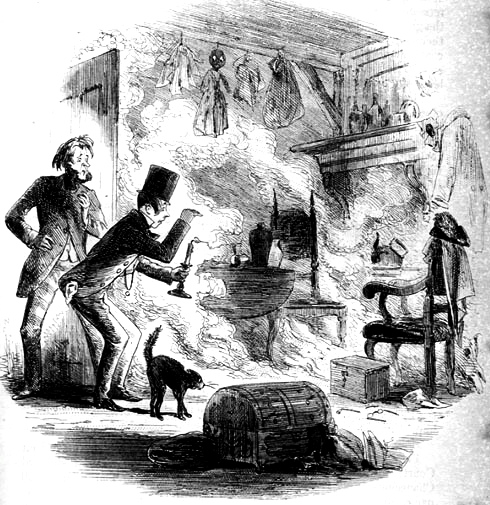 Spontaneous Combustion in Bleak House