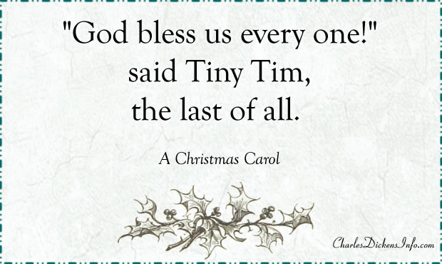 God Bless Us Every One