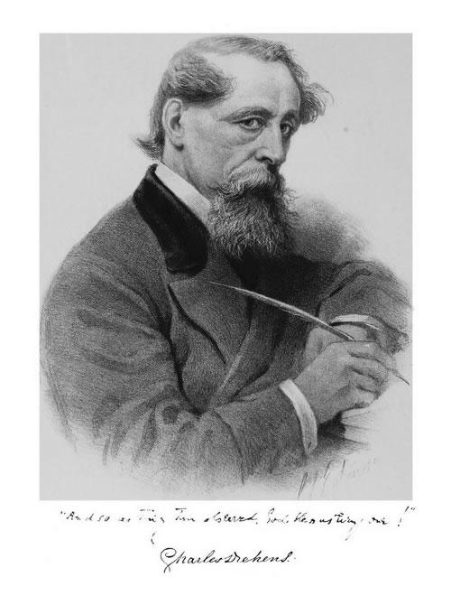Charles Dickens (image by Sol Eytinge, Jr.)