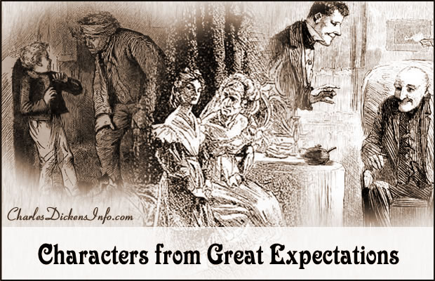 Character List for Great Expectations