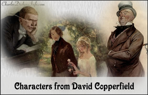 Character List for David Copperfield