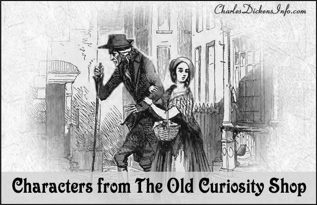 Character List for The Old Curiosity Shop